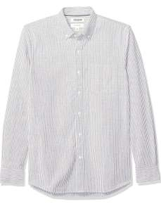 Amazon: Goodthreads - Camisa Oxford de Manga Larga para Hombre