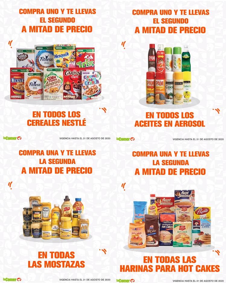 La Comer: Ofertas de Fin de Semana del Viernes 28 al Lunes 31 de Agosto