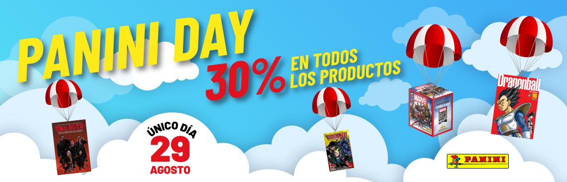Panini: 30% en todos los productos en Panini Day, solo el 29 de agosto