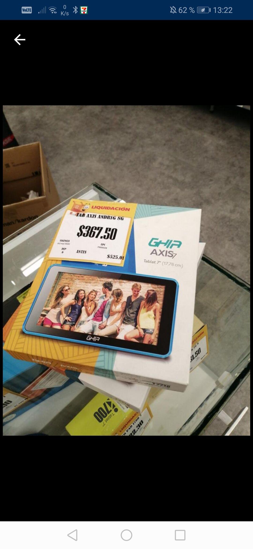 Walmart averanda (Morelos) tablets, licuadoras y mas