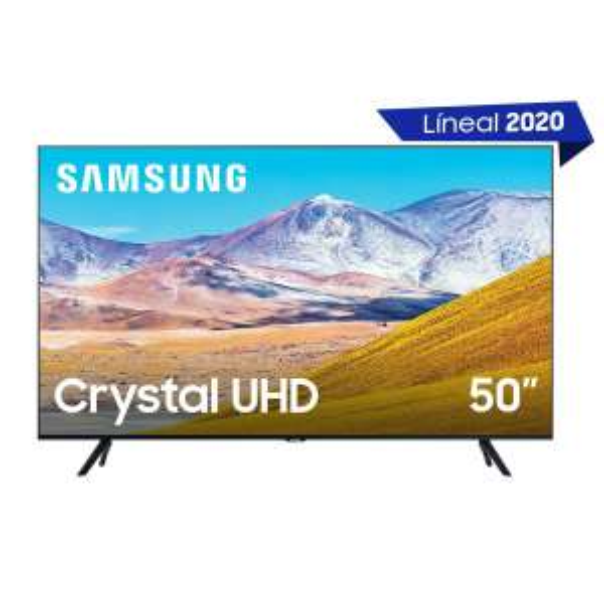 "Sears:Pantalla 50"" Led 4K Uhd Un50Tu8000Fxzx Samsung"