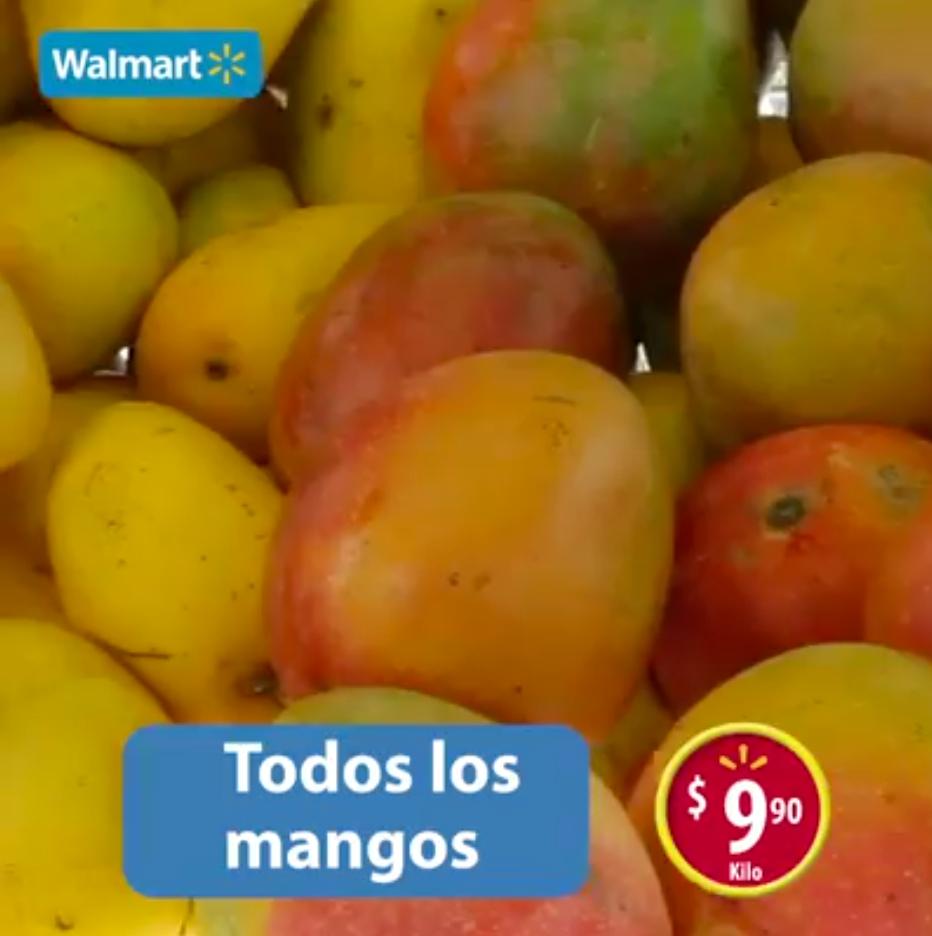 Martes de frescura en Walmart junio 14: todos los Mangos a $9.90 el kilo y más