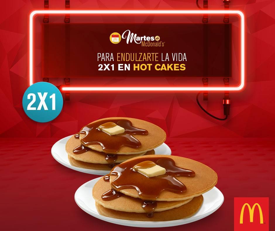 McDonald's: cupón 2x1 en hot cakes martes 14 de junio