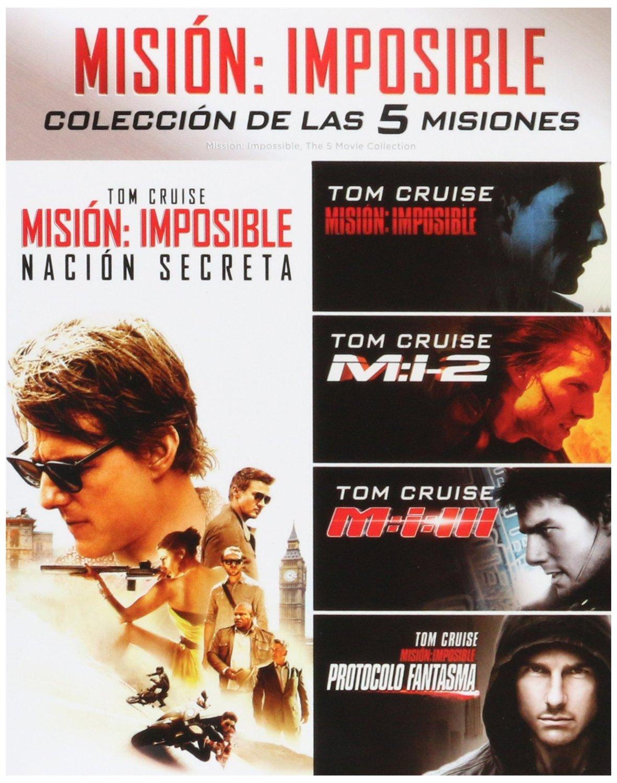 Bestbuy: Pentalogía Misión Imposible [Blu-ray] a $320