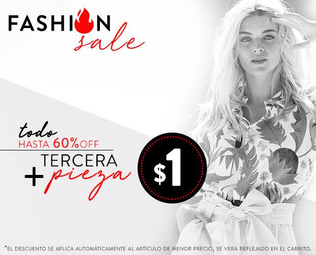 OSOM: La tercera pieza a 1$ Fashion Sale