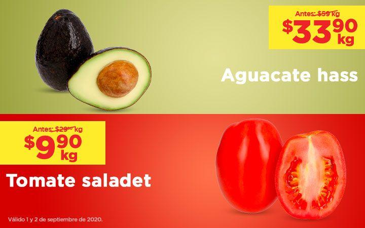 Chedraui: MartiMiércoles de Chedraui 1 y 2 Septiembre: Jitomate $9.90 kg... Manzanas Golden y Gala Bolsa $19.90 kg... Aguacate $33.90 kg.