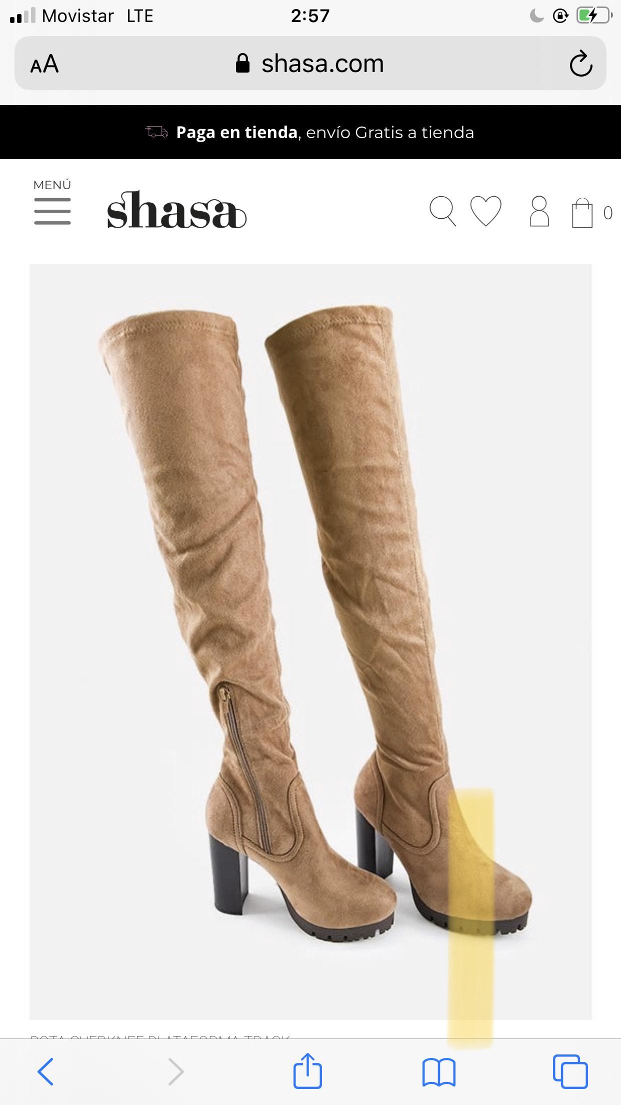 Shasa: botas largas