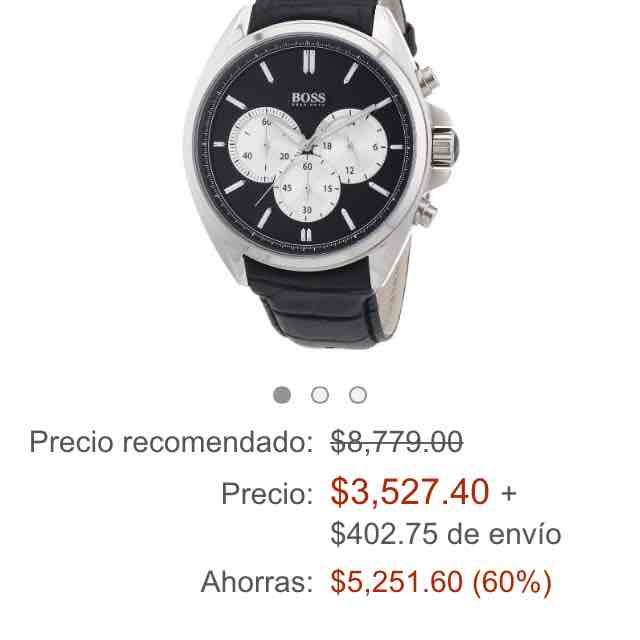 Amazon: reloj Hugo Boss para caballero Mod. 1512879