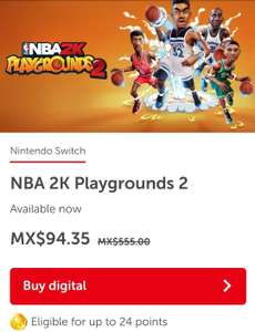 Nintendo eShop: Nba 2k playgrounds 2 para switch