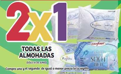 Ofertas de Julio Regalado en Soriana: 2x1 en almohadas y 3x2 en leche Soriana