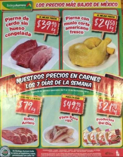 Tianguis de Mamá Lucha noviembre 9: papaya $9.90, perón golden $17.90 y más