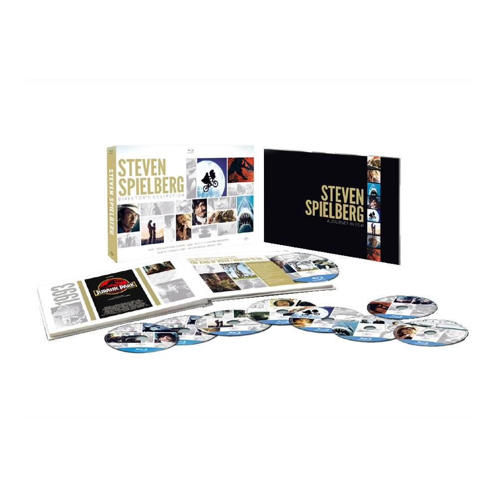 Amazon: Colección del Director Steven Spielberg, Formato Bluray.