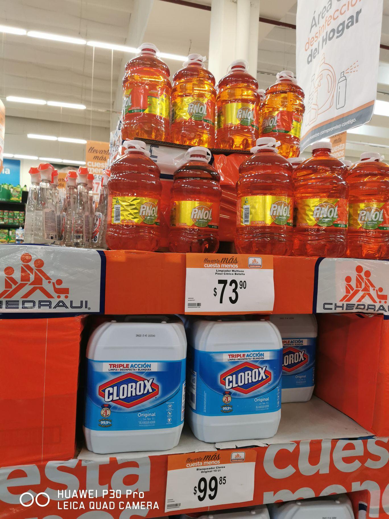 Chedraui Tampico: Pinol Cítricos 3.75 Litros