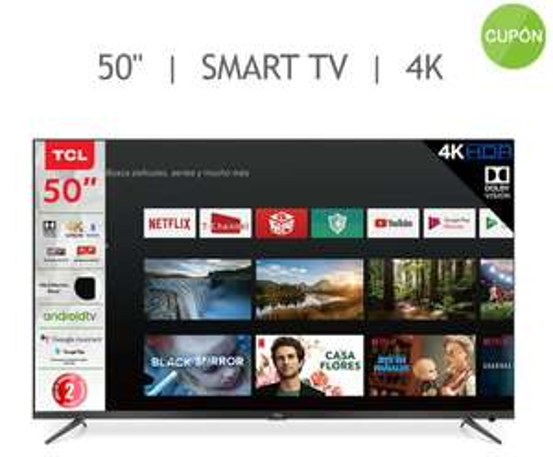 Costco: Smart TV TCL 50A527 Modelo 2020