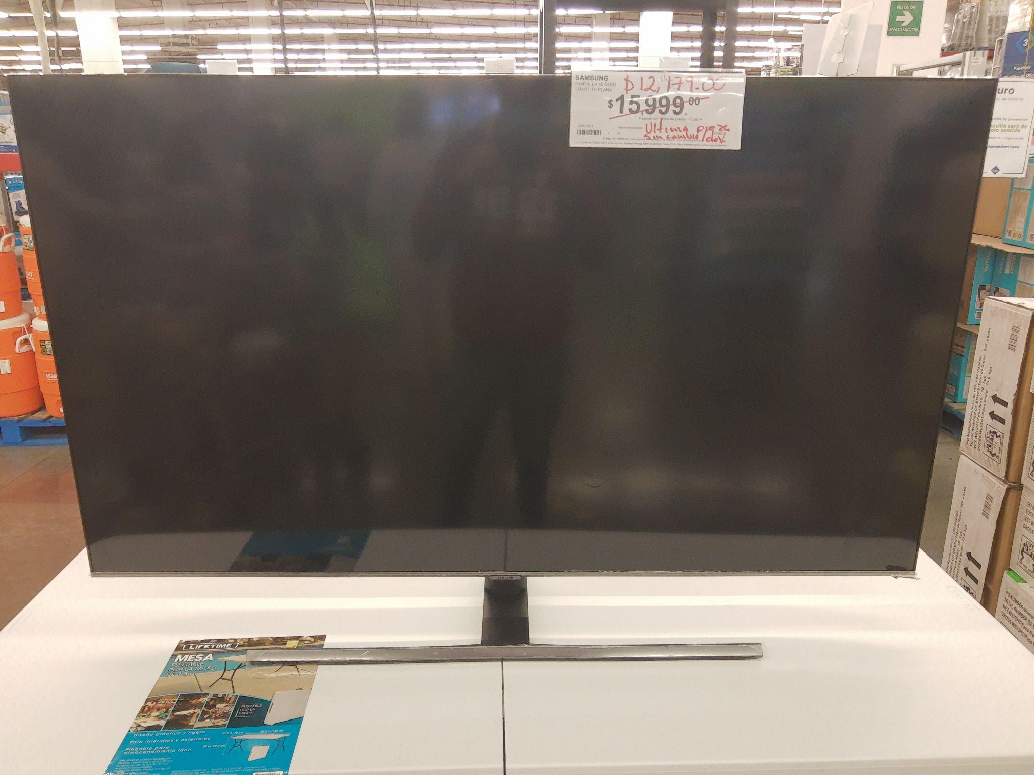 Sam's Club: Samsung 55 pulgadas qled Smart tv