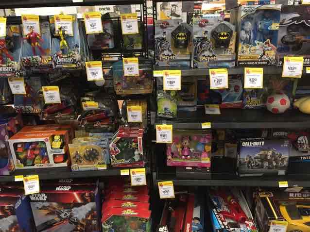 Walmart Copilco: Juguetes en liquidación
