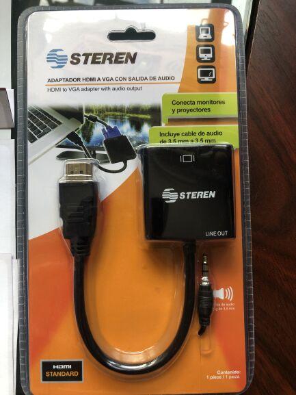Sam's Club - Adaptador HDMI a VGA Steren (Comprado en Sam's Las Torres Mty)