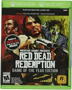 Amazon: Red Dead Redemption Game of The year edition para Xbox One y 360