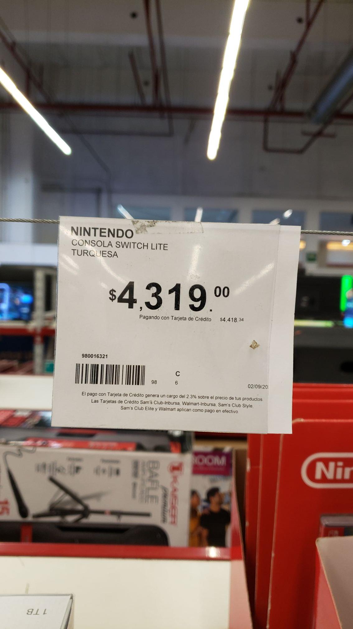 Sam's Club: Nintendo switch lite