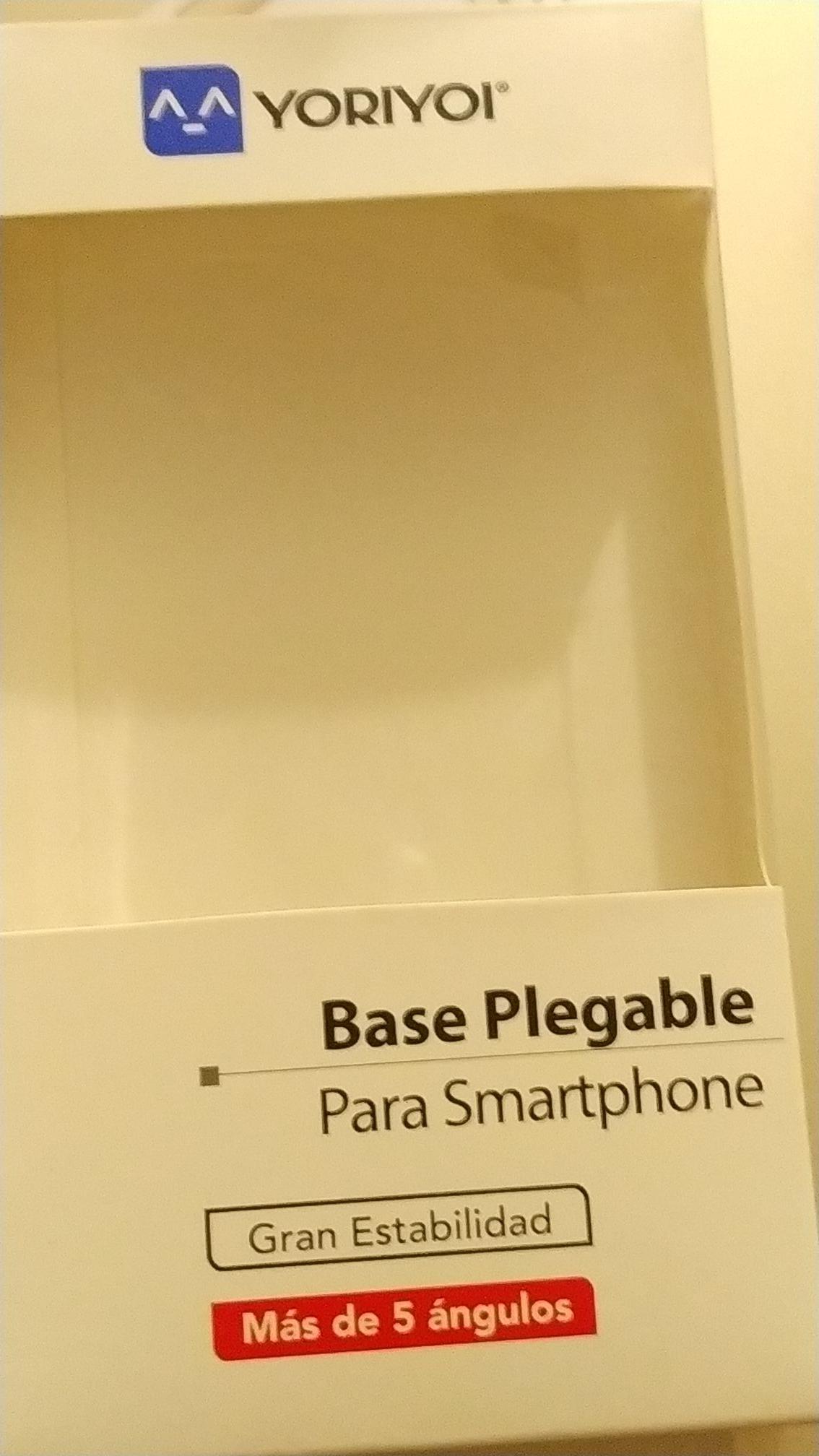 BODEGA AURRERA: YORIYOI base plegable para smartphone