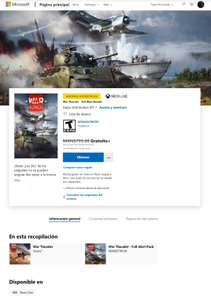 War Thunder - Full Alert Bundle Gratis con Xbox game pass ultimate activo