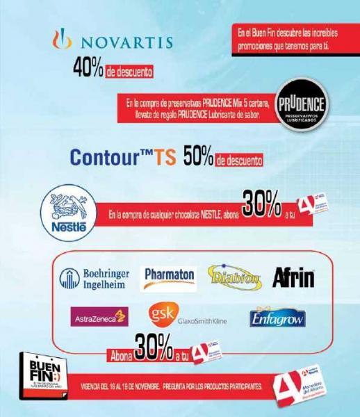 Ofertas del Buen Fin en Farmacias del Ahorro