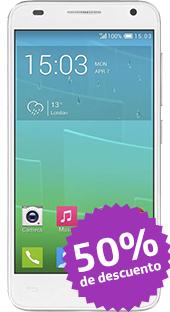 Movistar en línea: Cupon de 50% en Alcatel Idol 2 Mini