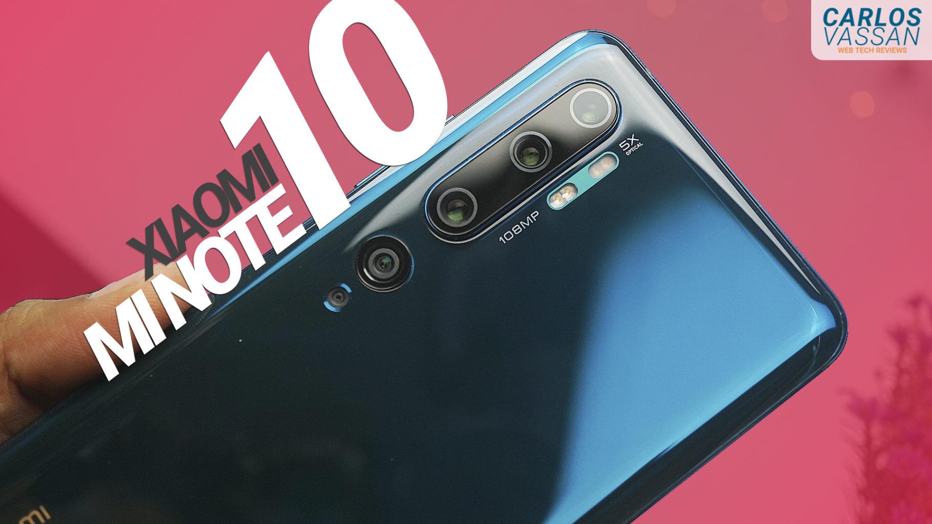 linio PaypalFest+ Banorte TC: Celular Xiaomi Mi Note 10 Midnight 6GB RAM 128GB ROM Negro.