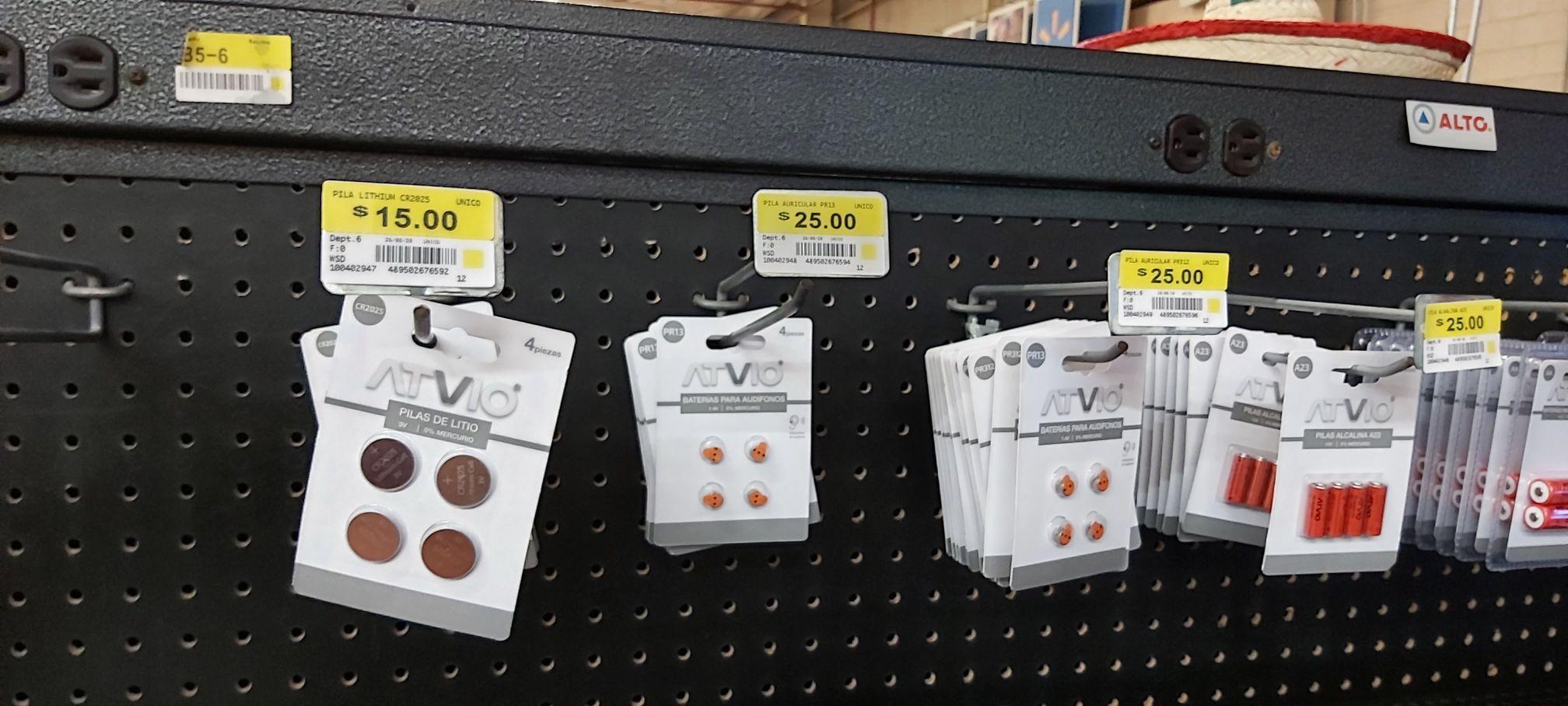 Walmart: Pilas ATVIO CR2025