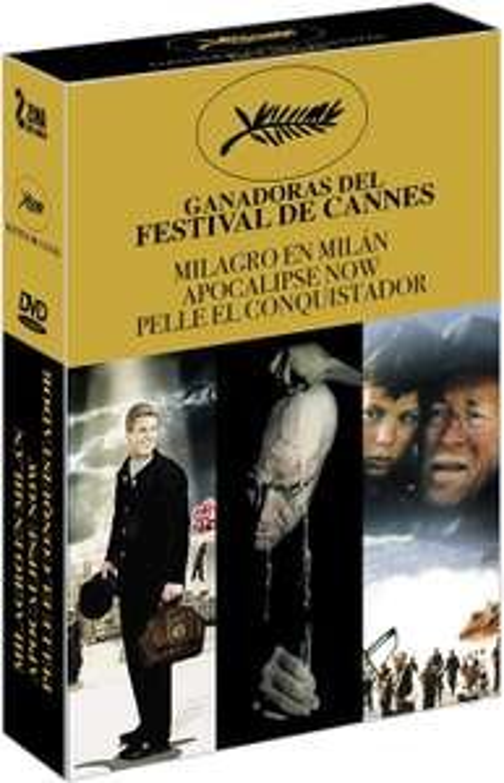 Amazon: Ganadoras del Festival de Cannes (DVD)