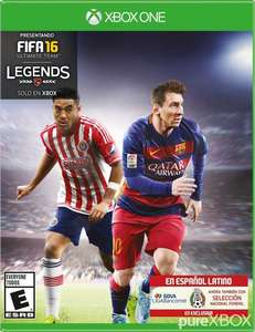 Amazon: Fifa 16 standar edition para xbox one (vendido por start games)