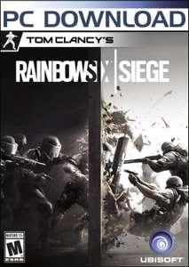 Amazon USA: Tom Clancy's Rainbow Six Siege para PC 15 USD (Uplay)