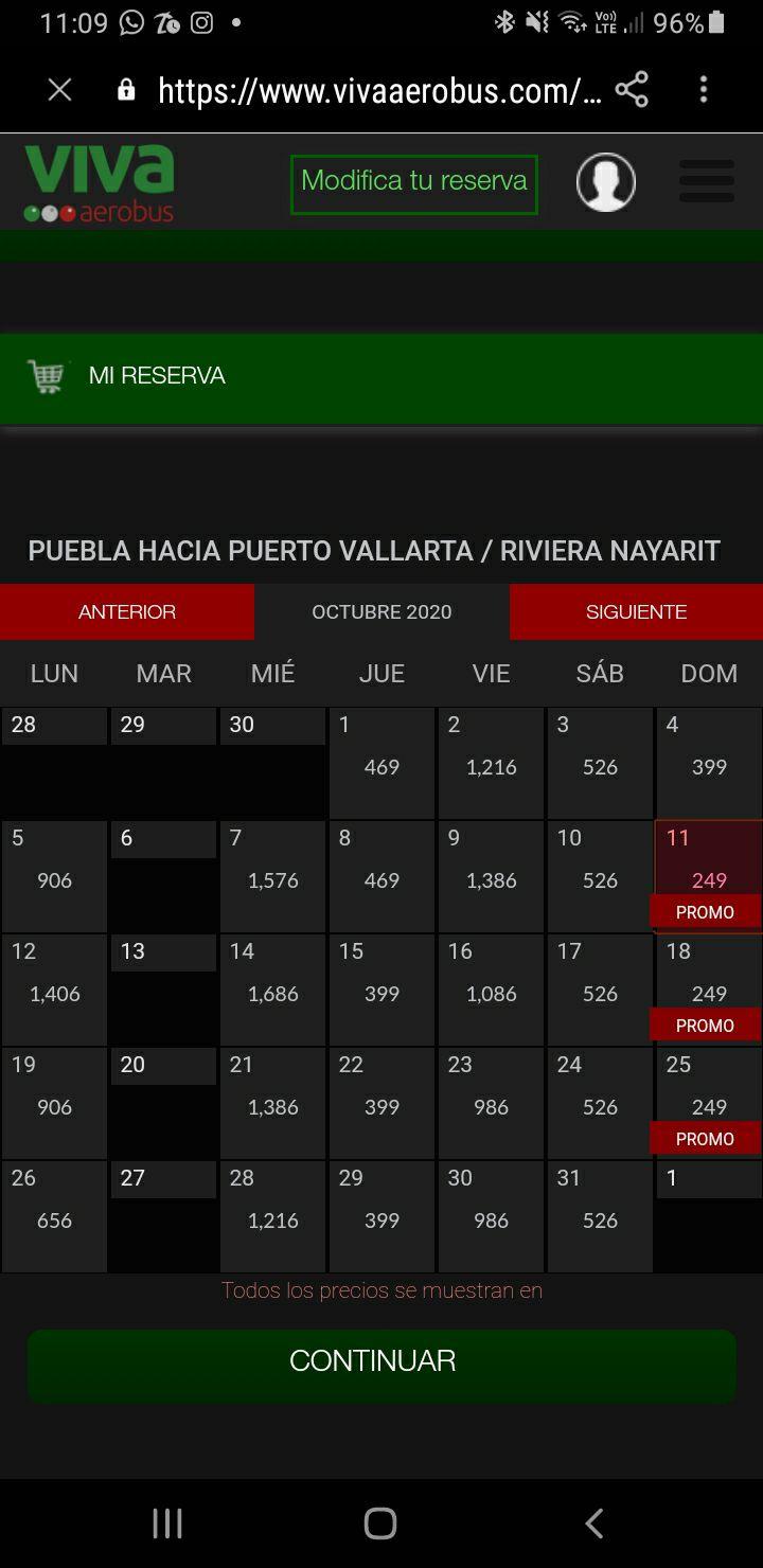 Vivaaerobus: Vuelos en $249 de puebla a puerto vallarta/ riviera nayarit