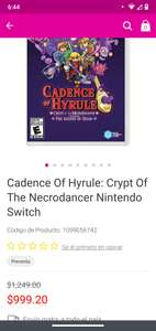 Liverpool Cadence of Hyrule nintendo switch