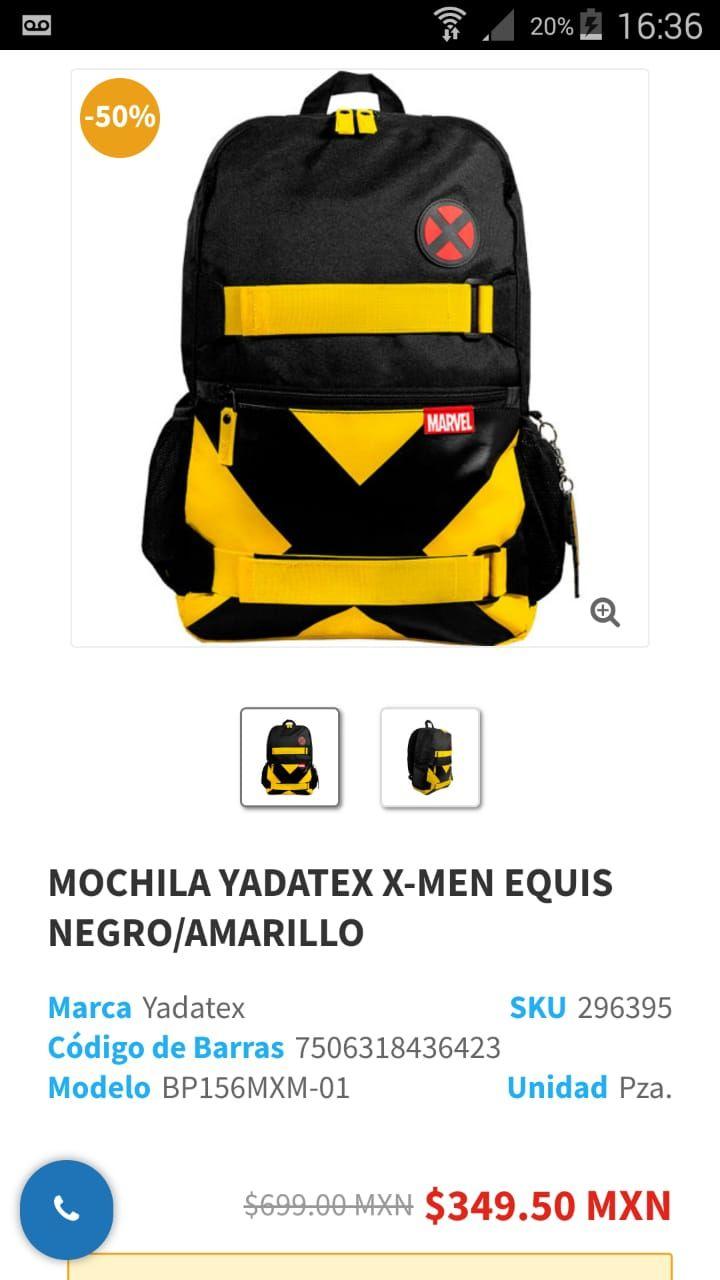 Lumen: Mochila X-men Negra