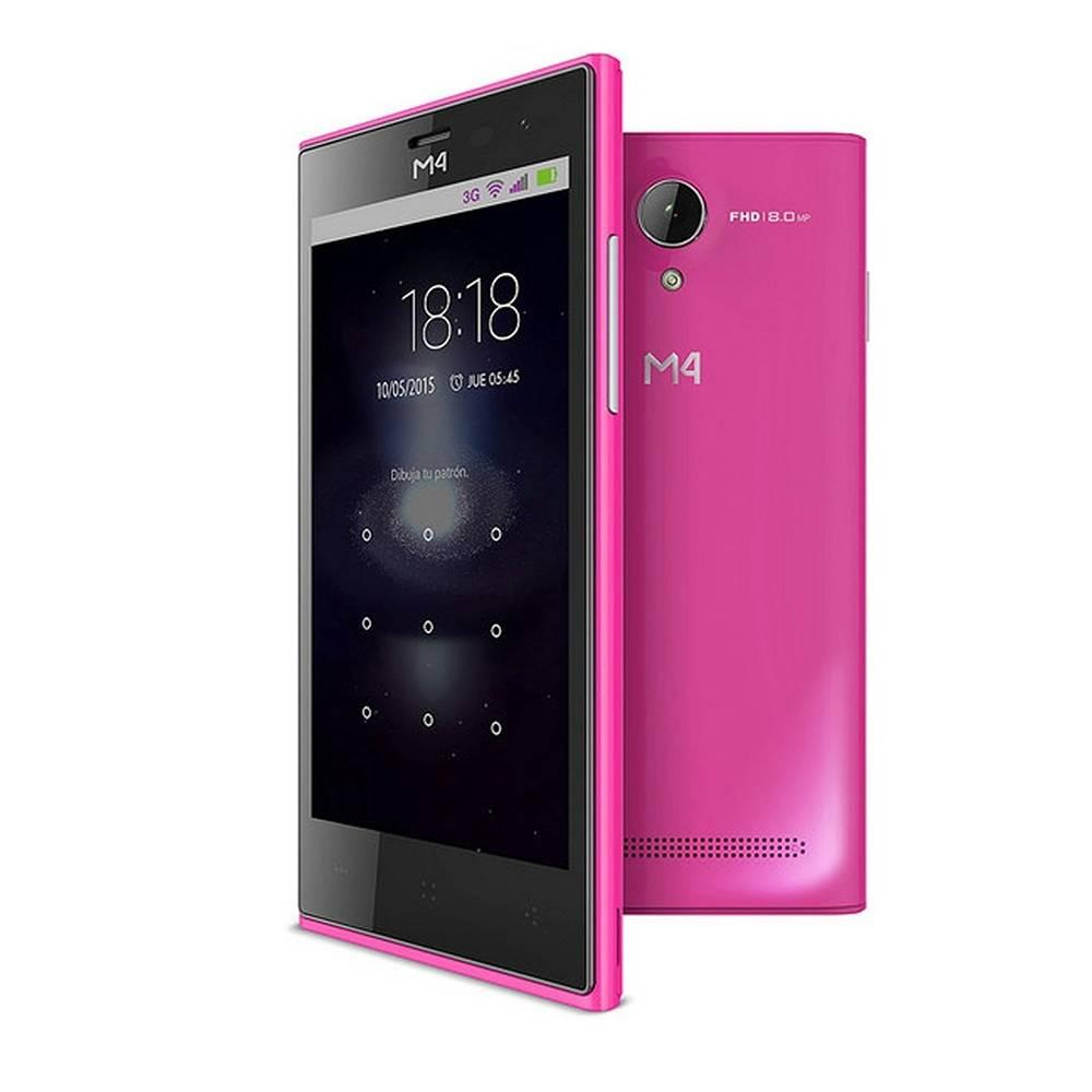 Sam's Club en línea: Smartphone M4 Style (solo disponible en algunos clubes de Baja California, Edo. Méx, Morelos, Quintana Roo y Yucatán)