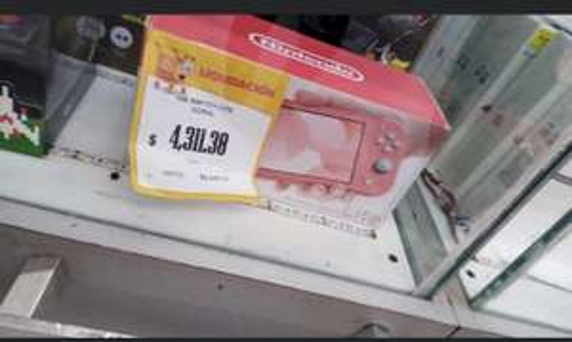 Walmart: Consola Nintendo switch lite