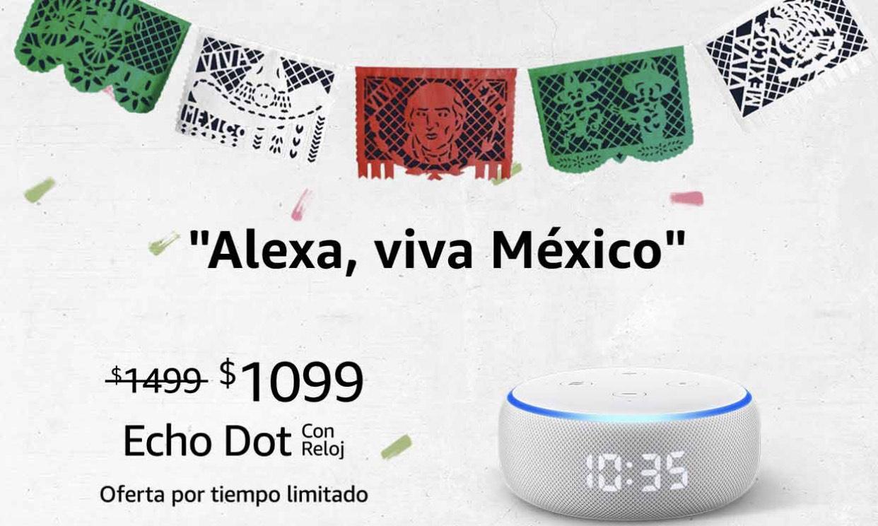 Amazon: Echo Dot con reloj + Smart Plug