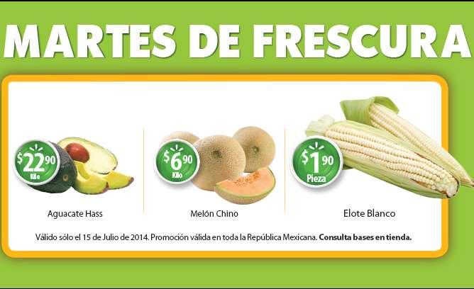 Martes de frescura en Walmart julio 15: melón $6.90 el kilo y más