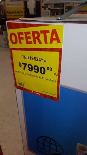 Soriana: Smart tv atvio 65""