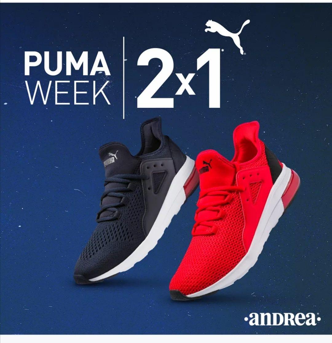 Andrea: 2x1 en Puma