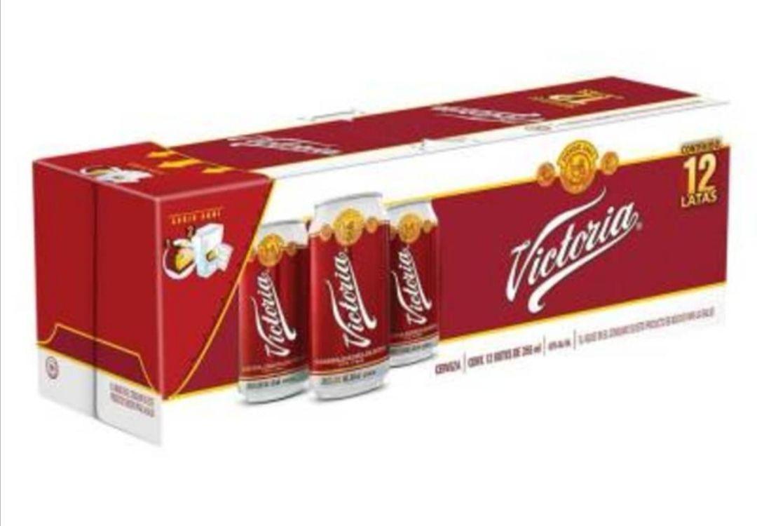 Walmart (cdmx online) : Cerveza oscura Victoria 12 Latas de 355 ml c/u