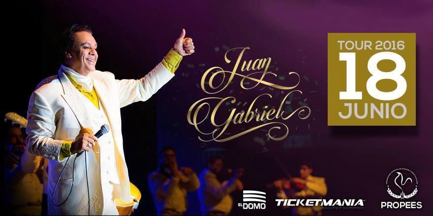 Tercer boleto gratis para Papá, para el concierto de Juan Gabriel en San Luis Potosí