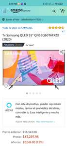 "Amazon Tv Samsung QLED 55"" QN55Q60TAFXZX (2020)"