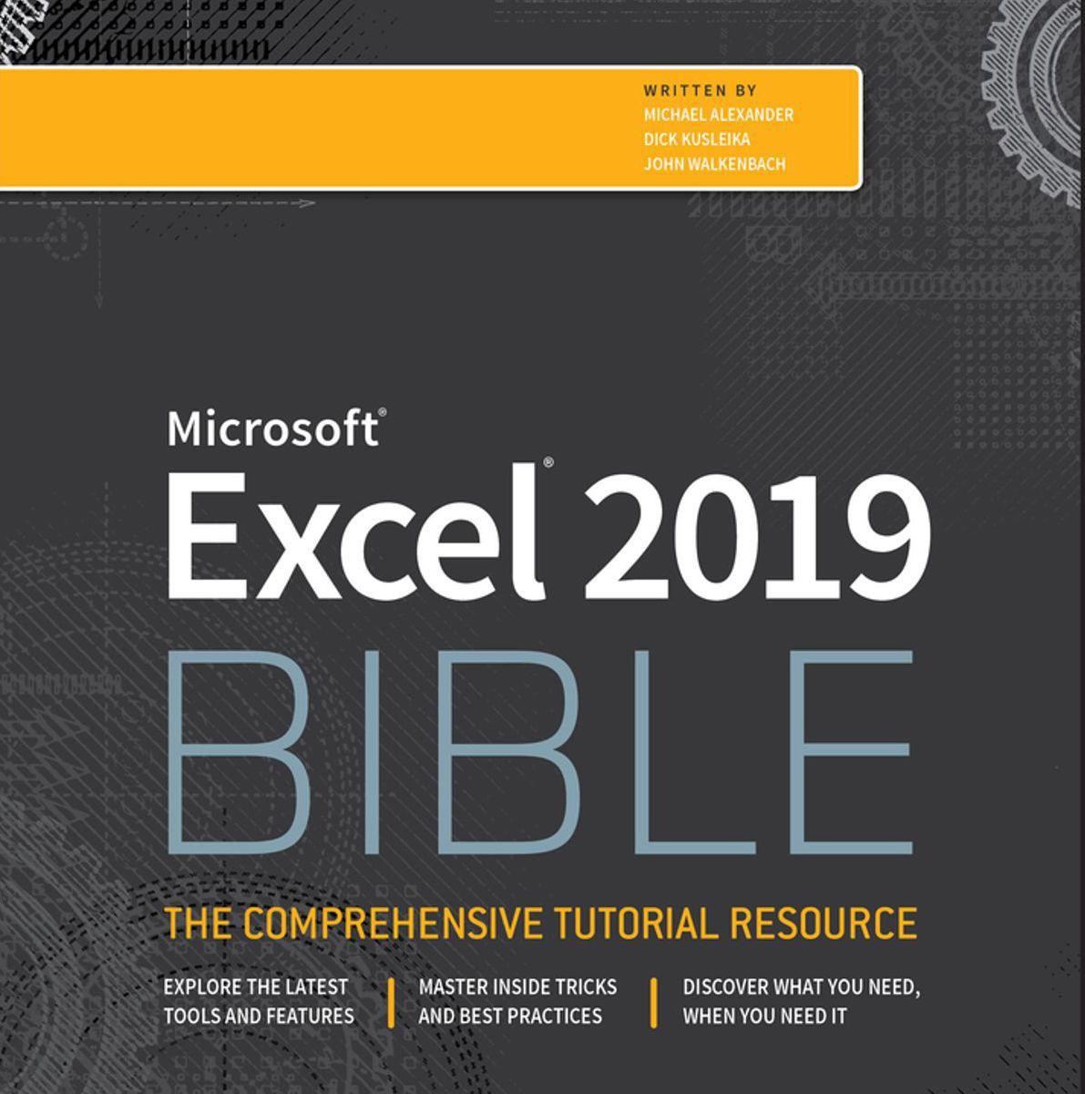 Gratis Ebook la Biblia de Excel 2019