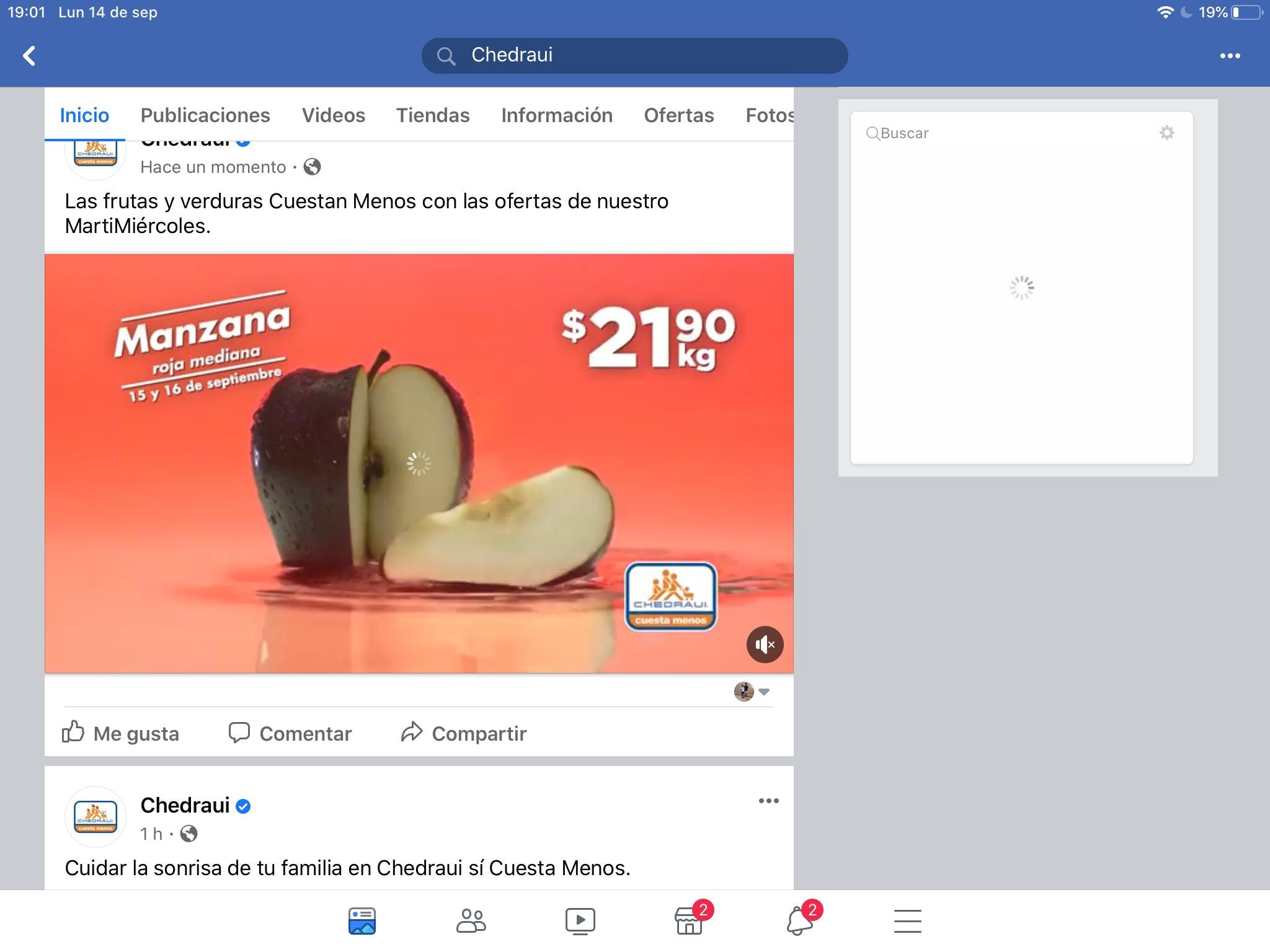 Chedraui: Martimiercoles 15 de septiembre | Manzana Roja $21.90kg, Aguacate Hass $29.50kg y más...