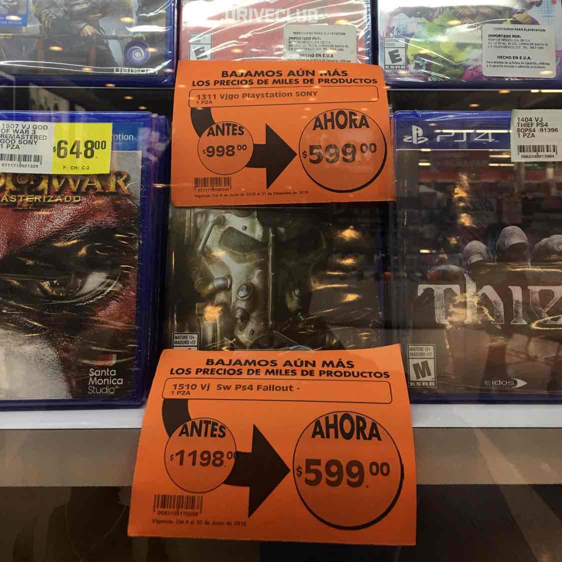 Comercial Mexicana Bahía de Santa Bárbara: Fallout 4 PS4 con 50% de descuento