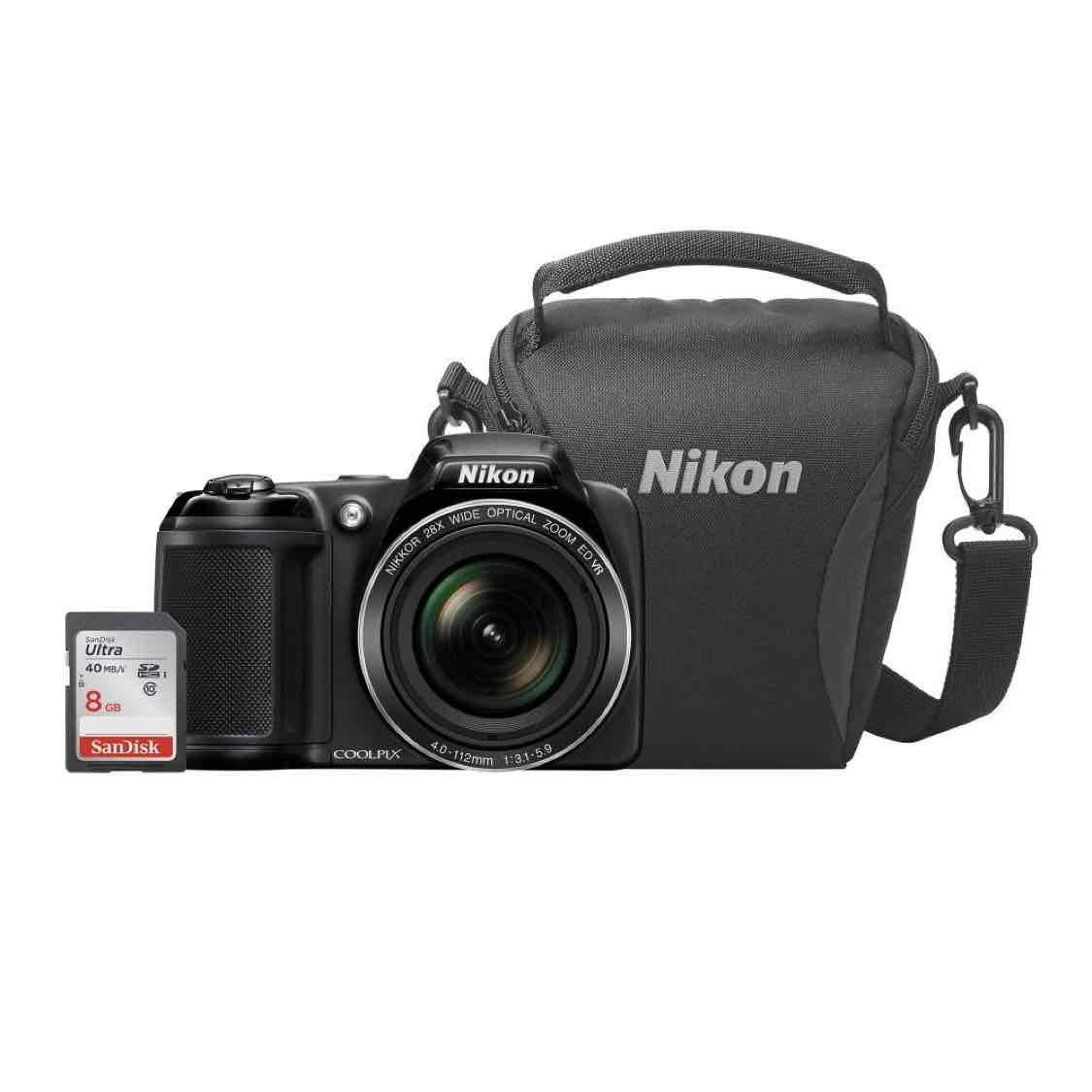 Sam's Club en línea: Kit Fotográfico Nikon  con Cámara P530 Estuche y SD 8GB a $4,799