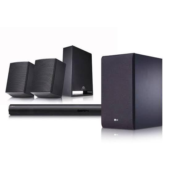 Chedraui: LG SJ4R Barra de Sonido 4.1 420W