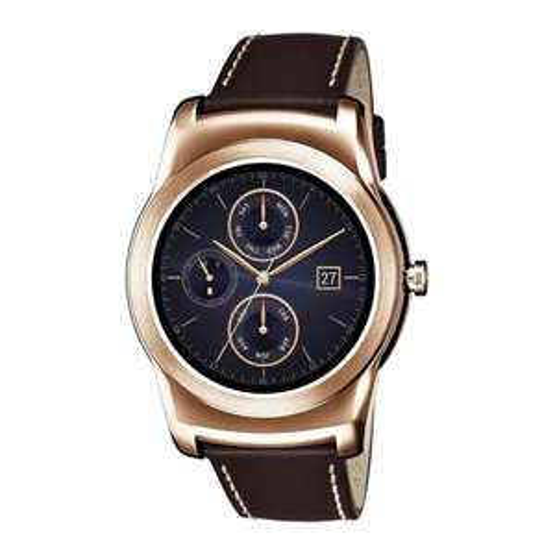 Sam's Club en línea: Smartwatch LG urbane piel dorado a $3,499